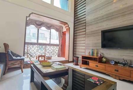 急售 阳光水世纪 客厅挑高全新豪华装修 户型方正 采光好 品牌家电保养好送大露台