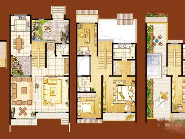 北門別墅 5室3衛3廳 320平精裝修 8500元/月