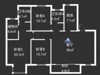 出售岸芷汀兰花园3室2厅2卫122平米180万住宅
