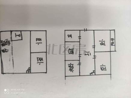 梅园新村 5-6复式 带露台80平米 带车位车库 满5年唯一 现浇房