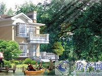 昆山与苏州一站之隔——泰泓花园 独栋别墅 占地一亩 满二税低 花园环绕 位置佳