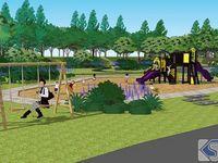 公园-儿童天地区规划示意图
