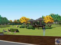 阳光草坪区规划示意图