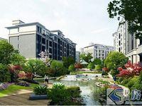 云谷周庄,湖景洋房,首付22万买2房,南北通透,得房率高,地铁口旁边无需社保可买