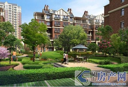 农房英伦尊邸 3房2厅2卫精装修1600 环境优美 看房随时有钥匙